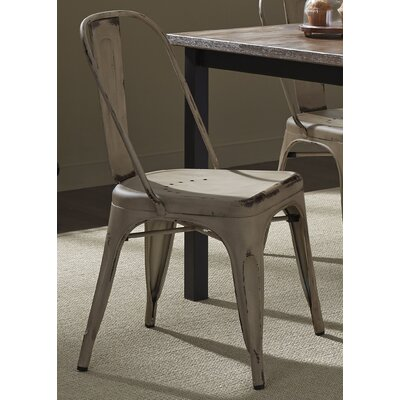 South Gate Side Chair Set (Set of 2) Finish: Antique White