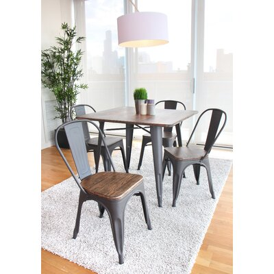 Rippeon 5 Piece Dining Set