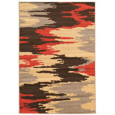 Fort Bragg Terracotta Area Rug Rug Size: Rectangle 5 x 7