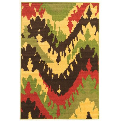 Tulelake Brown Area Rug Rug Size: 5 x 7