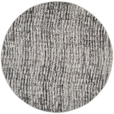 Millbrae Black/Beige Area Rug Rug Size: Runner 26 x 16