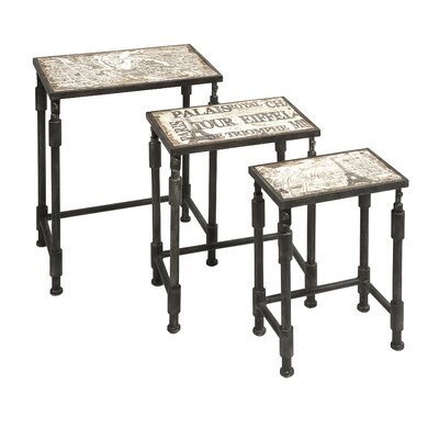 San Juan Capistrano 3 Piece Nesting Tables