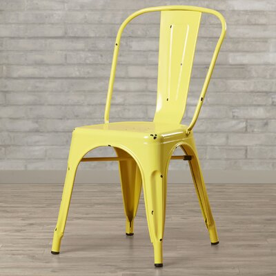 Airelle Side Chair Finish: Antique Yellow