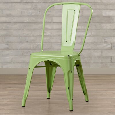 Airelle Side Chair Finish: Spring Green