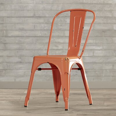 Airelle Side Chair Finish: Clementine Orange