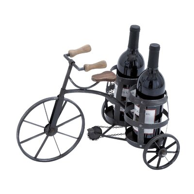 Dudley 2 Bottle Tabletop Wine Rack
