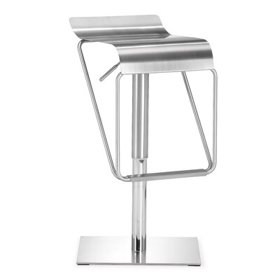Raiford Adjustable Height Bar Stool