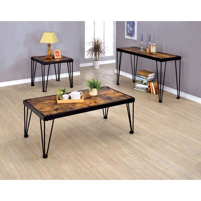 Horne 3 Piece Coffee Table Set