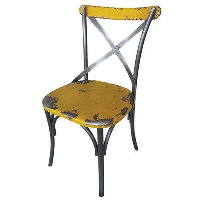 Catsby Side Chair (Set of 2) Finish: Yellow