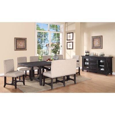 Gaudette 8 Piece Wood Dining Set