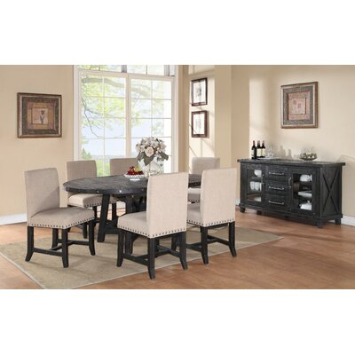 Gaudette 7 Piece Dining Set