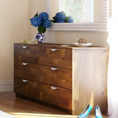 Hillsborough Double 6 Drawer Dresser