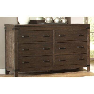 Colfax 6 Drawer Dresser