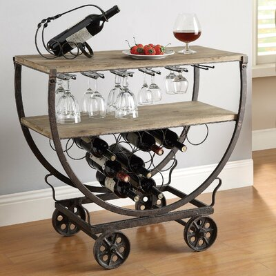Kris 11 Bottle Floor Wine Rack