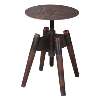 Hegewisch Adjustable Height Bar Stool