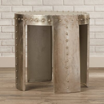 Kori Round Metal End Table