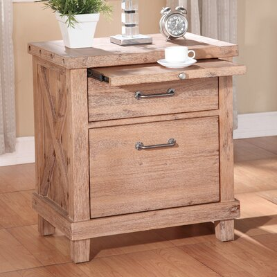 Langsa 2 Drawer Nightstand Color: Cider