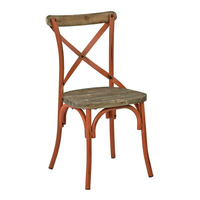 Charnwood Solid Wood Dining Chair Finish: Antique Orange