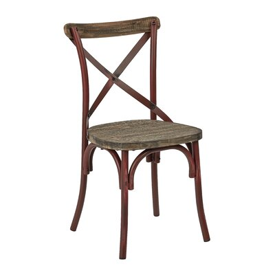 Charnwood Solid Wood Dining Chair Finish: Antique Red