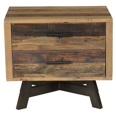 Holden 2 Drawer Nightstand