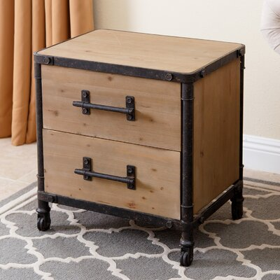 Chadwood 2 Drawer Nightstand