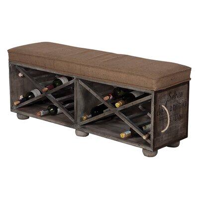 Avon Guild Master Wine Crate Ottoman