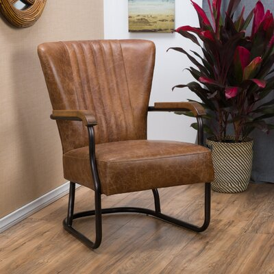 Chelsea Top Grain Leather Arm Chair
