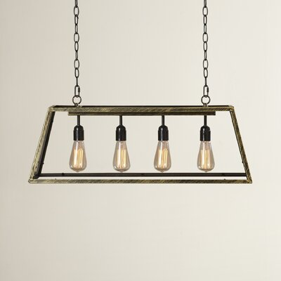 Suisun City 4-Light Kitchen Island Pendant
