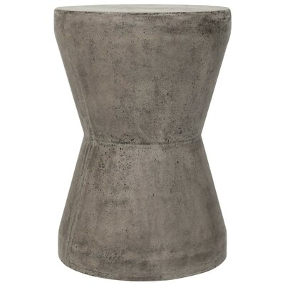 Durwood End Table Color: Dark Gray