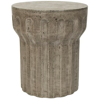 Donegal End Table Color: Dark Gray