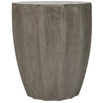 Coulver End Table Finish: Dark Gray