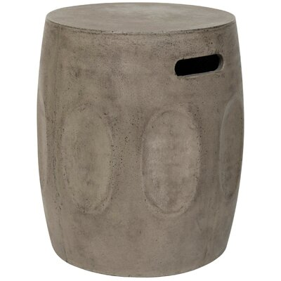 Bissonet End Table Finish: Dark Gray