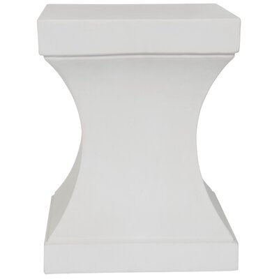 Chestle End Table Color: Ivory
