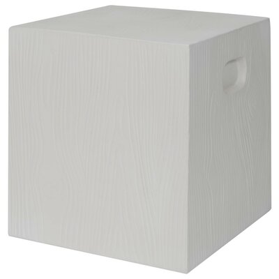 Lonetree End Table Finish: Ivory