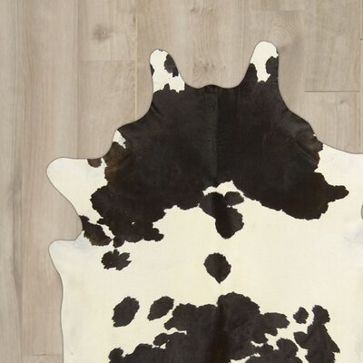 Fort Jones Handmade Black/White Area Rug