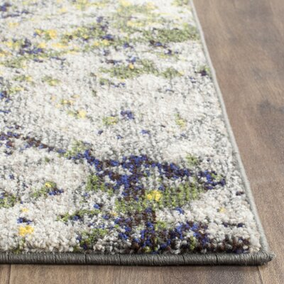 Cabinwood Gray Area Rug Rug Size: Square 67