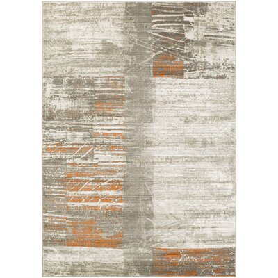 Chartwell Gray Area Rug Rug Size: Rectangle 52 x 76