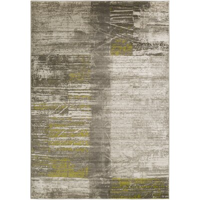 Chartwell Gray/Olive Area Rug Rug Size: Rectangle 76 x 106