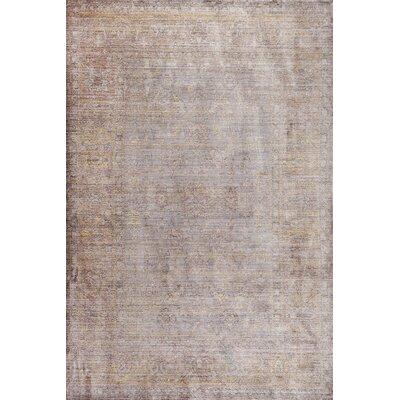Deeringhill Gray Area Rug Rug Size: 9 x 12
