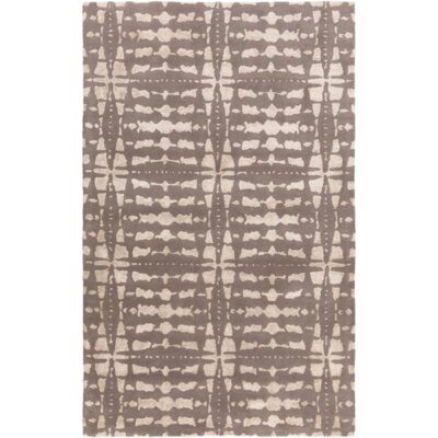 Vesey Hand-Tufted Gray/Beige Area Rug Rug Size: Rectangle 8' x 10'