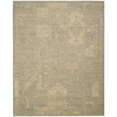 Ardale Wool Gray Area Rug Rug Size: Rectangle 56 x 8
