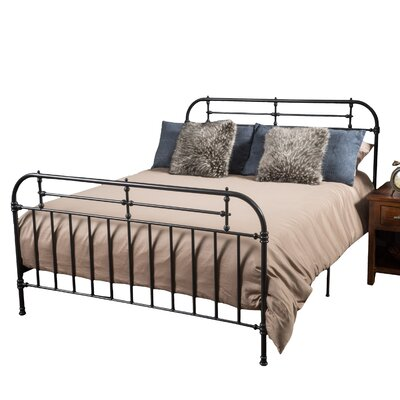 Willow Queen Panel Bed Color: Charcoal