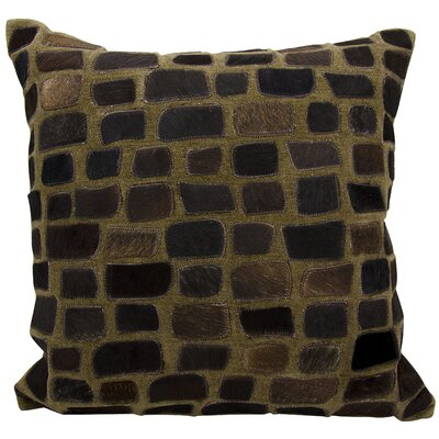 Dymalor Throw Pillow Color: Chocolate