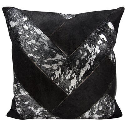 Boquillas Throw Pillow Color: Black Silver