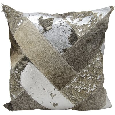 Boquillas Throw Pillow Color: Silver Gray