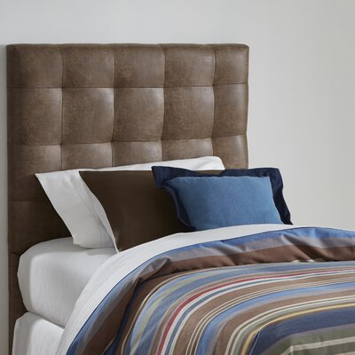 Cedar Twin Upholstered Panel Headboard Upholstery: Cowboy