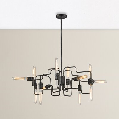 Columbus 12-Light Sputnik Chandelier