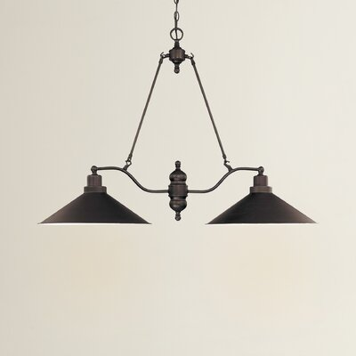 Schaff 2-Light Kitchen Island Pendant