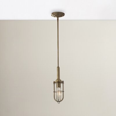 Zelma 1-Light Mini Pendant