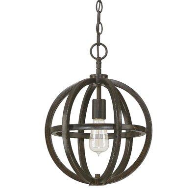 Irwin Globe Pendant Size: 1 Light